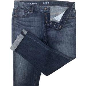 Ann Taylor LOFT Boyfriend Fit Jeans